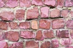 红色花岗岩背景 免版税库存照片