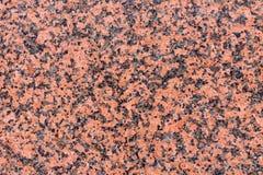 红色花岗岩 免版税库存照片