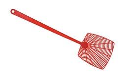 红色苍蝇拍 免版税库存图片