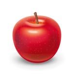 红色苹果例证 免版税库存图片