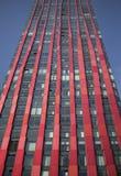 红色苹果计算机塔,鹿特丹 免版税库存图片