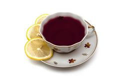 红色茶 免版税库存照片