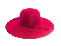 红色草帽 库存图片