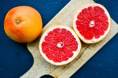 红色葡萄柚 免版税库存图片
