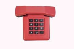 红色葡萄酒电话 免版税库存图片