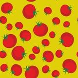 红色蕃茄无缝的纹理560 向量例证