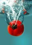 红色蕃茄水 库存照片