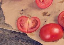 红色蕃茄 免版税库存图片