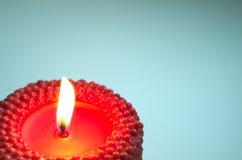 红色蜡烛 图库摄影