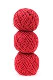 红色螺纹 免版税图库摄影