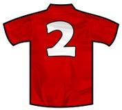 红色衬衣两 库存照片