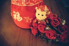 红色袋子 图库摄影