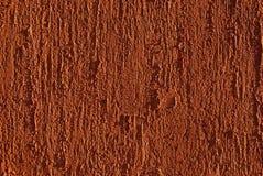红色被绘的涂灰泥的墙壁 图库摄影