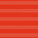 红色被编织的织品纹理  免版税图库摄影