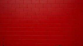 红色被绘的墙壁 免版税图库摄影