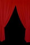 红色装饰背景 免版税库存照片
