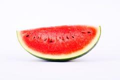 红色西瓜是与甜口味的果子 库存图片