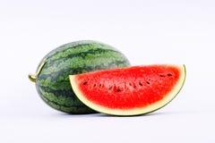 红色西瓜是伟大的果子对健康 图库摄影