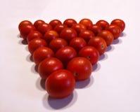 红色西红柿,关闭 免版税库存图片