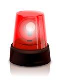 红色警察指引 免版税库存照片