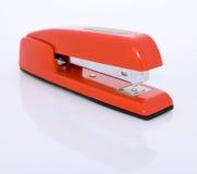 红色订书机 免版税图库摄影