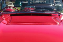 红色跑车 库存图片