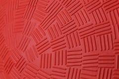 红色躲避球样式 免版税库存照片