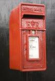 红色过帐配件箱英国 免版税库存照片
