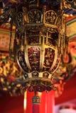 红色这里中国人的灯笼 免版税图库摄影