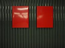 红色配件箱 库存图片