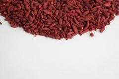 红色酵母米 图库摄影