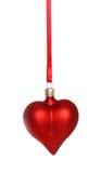 红色重点装饰品 免版税库存图片