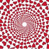 红色重点 库存图片