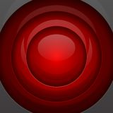 红色金属圆形 库存照片