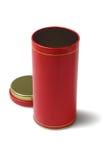 红色金属容器 库存图片