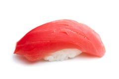 红色金枪鱼寿司 库存图片