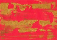 红色金箔纹理背景 免版税库存照片