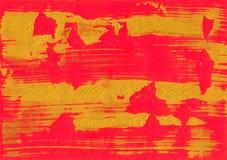 红色金箔纹理背景 免版税库存图片