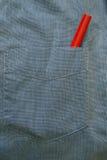 红色铅笔 免版税库存图片