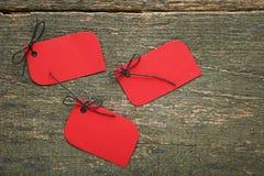 红色销售额标签 免版税库存照片
