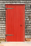 红色门 免版税图库摄影