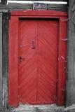 红色门35 库存图片