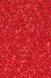红色闪烁纹理背景 免版税库存图片