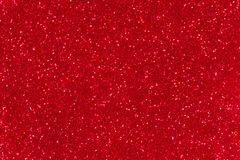 红色闪烁纹理 抽象闪光背景为新年或圣诞节假日 库存照片