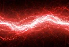 红色闪电 图库摄影