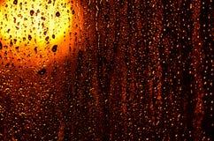 红色雨 库存图片