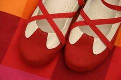 红色鞋子 图库摄影
