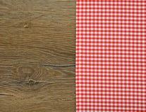 红色餐巾 库存图片
