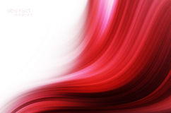 红色高技术抽象背景 免版税图库摄影