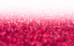 红色,桃红色闪烁 库存图片